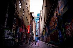 scrawl street (scrawling hu) Tags: street melbourne lane scrawl hosier