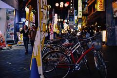 0877 (ken-wct) Tags: street city light urban art bicycle night lights nikon f14 sigma d750 osaka 30mm