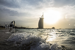 Sea of Dubai (Rohaan Ali Photographics) Tags: sea water dubai ali splash photographics rohaan