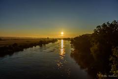 A golden sunrise (Jantje1972) Tags: sunrise gold golden river water