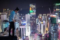 DSC05682 (yin321) Tags: city hk landscape hongkong sony tibet nightview 城市 香港 西藏 rooftopper rooftopping a6000 sel1650 sonya6000 徒搭