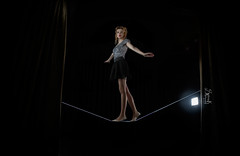 """""""The Acrobat"""" with Maria of M&M fashion bites (SpirosK photography) Tags: portrait fashion costume photoshoot circus maria athens greece whip acrobat whiterabbit    spiroskphotography mmfashionbites"""
