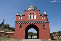 LA PORTA DEL MONESTIR DE KRUSEDOL (Srbia, agost de 2012) (perfectdayjosep) Tags: krusedolmonastery monestirdekrusedol perfectdayjosep fruskagora srbia serbia balcans balkans balcanes
