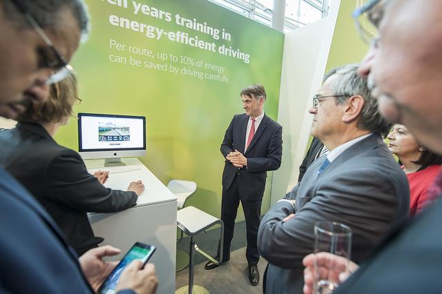 Johann Metzner explains energy-efficient driving