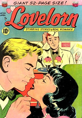 Lovelorn 24 (Michael Vance1) Tags: woman man art love comics artist marriage romance lovers dating comicbooks relationships cartoonist anthology silverage