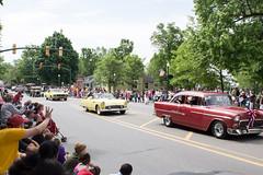 Dexter, Michigan Memorial Day Parade, 2015 (marylea) Tags: classic belair car vintage community classiccar parade memorialday 2015 may25 memorialdayparade washtenawcounty