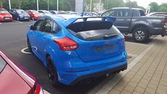 2016 Ford Focus RS (>Tiarnn 21<) Tags: uk blue ford focus pat rs kirk 2016 2106 2017 2917
