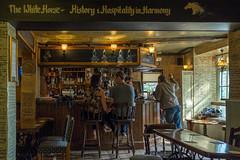 The White Horse (RolandBrunnPhoto) Tags: uk england kent pub europa europe devon dover gasthaus grosbritannien