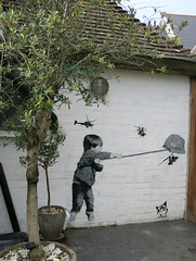 Catman (surreyblonde) Tags: uk streetart stencils net wall canon graffiti coast child can spray urbanart walls cartman helicopters whitstable g15