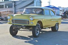 Mooneyes X-Mas Party 2015 (USautos98) Tags: chevrolet 1955 chevy hotrod custom streetrod gasser 210 nostalgiadragracing