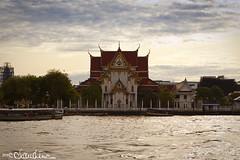 (by claudine) Tags: thailand temple bangkok chaophrayariver travelphotographyworldphotosuniquebyclaudine