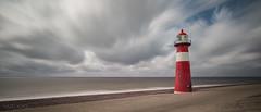 Westkapelle, Zeeland, Holland (Hans Kool) Tags: vakantiezeeland2016 tower vuurtoren sea zee zeeland holland nederland kust coast westerschelde baken le long exposure