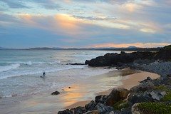 shark bait (J.R.P) Tags: coffs harbourjetty 2450 nikon d3200 coffsharbour surfer waves beach sunset dusk