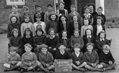 Woodend, Vic (theirhistory) Tags: children boys girls junior primary school photo jumpertrousers shirt shoes wellies shorts skirt wellingtons slate bow blazer teacher socks cardigan jacket class form pupils students education