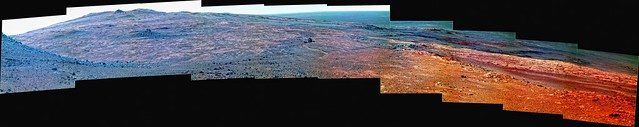 Looking Across the Plains of Mars