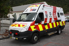 GUS 672 (ambodavenz) Tags: new fire daily ambulance vehicles zealand 70 iveco