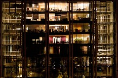 (Stefano☆Majno) Tags: roof red building travelling oslo norway matrix night skyscraper canon photography opera shot flat geometry appartement wandering stefano majno