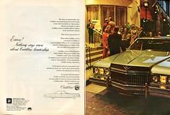 1973 Cadillac Advertisement Newsweek April 9 1973 (SenseiAlan) Tags: 9 cadillac advertisement april newsweek 1973