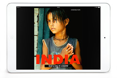 the new ebook (handheld-films) Tags: travel people blackandwhite india closeup portraits book eyes asia faces candid delhi indian formal documentary portraiture bombay mumbai ebook kolkata calcutta rajasthan westbengal subcontinent madhyapradesh ipad ruralindia
