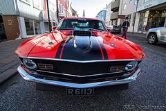 Ford Mustang Mach-1 70 (B&B Kristinsson) Tags: ford iceland reykjavik 1970 mustang fordmustang mustangmach1 krser krsercarclub krserkvld