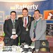 Showtel Kevin Denner & Damien Caldwell Bunzl Rafferty McLoughlin and Stephen McNally, IHF President
