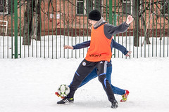 *** (Artur (RUS) Potosi) Tags: soccer football footballer guy 2013 man sport outdoor sports snow winter