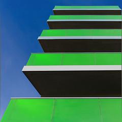 11/52: Rennes : The green balconies (Hervé Marchand) Tags: green architecture balcony bretagne balcon rennes ver urbain spr 52weeksthe2015edition weekstartingthursdaymarch122015 week112015