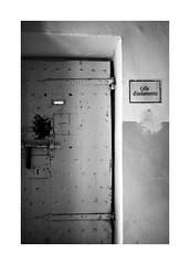 Jail n° 1 (Franco & Lia) Tags: sardegna blackandwhite noiretblanc prison jail biancoenero jailhouse prigione carcere tempiopausania larotonda