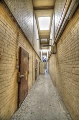 Corridor (Brearey) Tags: rot abandoned decay corridor gas national forgotten urbanexploration rotten left derelict establishment turbine dilapidated urbex pye ngte pyestock