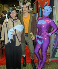 SagaandMassEffect (merhawk) Tags: seattle cosplay hazel saga alana marko imagecomics asari emeraldcitycomiccon masseffect