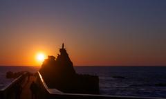 Rocher de la vierge (jean-michel radet) Tags: de la soleil coucher rocher biarritz vierge