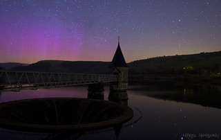 Ponsticill Reservoir - Aurora Borealis