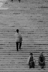 KLM9496_S (Konrad Lembcke) Tags: world life road street new city trip travel people urban bw white black art monochrome modern stairs canon vintage de lens photography construction europe fuji transformation candid documentary cctv malta journey 200 change fujifilm mf re   scape sreet development fujinon f28 schwarz fd valletta weis avstand xt1 nowtrwelling