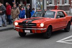 Ancêtre (photophil16) Tags: auto red ford car rouge automobile voiture mustang défilé ancêtre