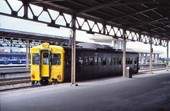 Taiwan - East Coast Line - Hualien (railasia) Tags: station platform taiwan hualien infra nineties tra motorcar eastcoastline 1067mm class40dr
