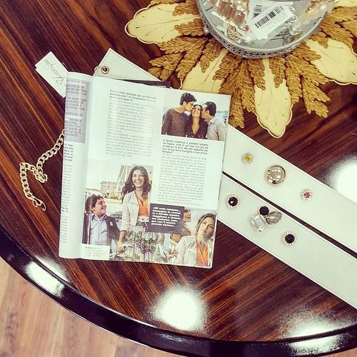 Oggi su Secret style magazine @younique_accessori con @serenarossiofficial. Cinture gioiello e accessori esclusivamente artigianali e Made in Italy. #handmade #madeinitaly #bijoux #film #movie #partner #instagood #furry #goodday #instabday #cute #animals
