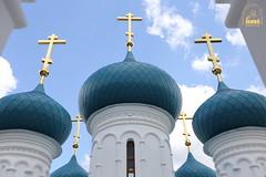 72. Paschal Prayer Service in Svyatogorsk / Пасхальный молебен в соборном храме г. Святогорска