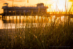 Sunrise at Ocean View Fishing Pier (Larry Ferdinande) Tags: beach sunrise canon virginia pier norfolk oceanview 757 cova chesapeakebay 6d hamptonroads tidewater virginiaisforlovers oveanview oceanviewfishingpier teamcanon coastalvirginia 757collective my7cities visitva