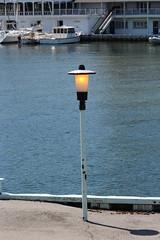 Burnin' Daylight (jmaxtours) Tags: light toronto ontario canada ferry lightpost wards torontoislands wardsisland torontoharbour burnindaylight