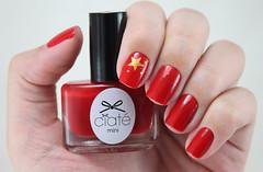 [Desafio 31 Unhas] Bandeira (beeanka.) Tags: china red bandeira stars vermelho nails pt unhas chine nailart estrelinhas unhasdecoradas comunistaaaa
