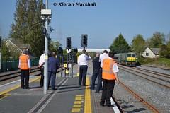219 approaches Hazelhatch and Celbridge, 16/5/16 (hurricanemk1c) Tags: irish train gm rail railway trains hatch railways irishrail 201 219 generalmotors 2016 emd iarnrd ireann iarnrdireann 1700heustoncork hazelhatchandcelbridge