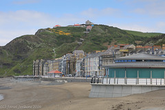 Constitution Hill and Aberystwyth Seafront (janevans35) Tags: aberystwyth