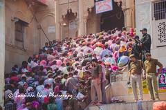 Barsana Nandgaon Lathmar Holi Low res (7 of 136) (Sanjukta Basu) Tags: holi festivalofcolour india lathmarholi barsana nandgaon radhakrishna colours