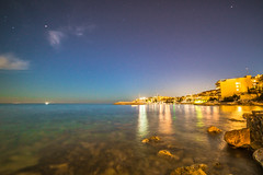 Night Work in Palma (rodesueco) Tags: nightphotography moon beach night nightshot sony playa fullmoon puestadesol palma islas baleares palmademallorca islasbaleares sonyalpha sonyimages sonyalpha6000 sonya6000 iamsony palmaimages