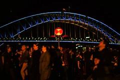 Beautiful colors of Sydney (phoenixfelices) Tags: streetphotography street photo nikonaustralia mynikonlife nikond810 d810 nikonlove sydneylife winter vivid exploreaustralia photography night nsw nightlife nikonphotography nikon sydney vividsydney