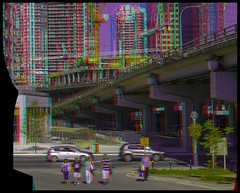 Toronto's Gardiner Expressway 3-D ::: HDR/Raw Anaglyph Stereoscopy (Stereotron) Tags: urban toronto window architecture modern radio canon eos stereoscopic stereophoto stereophotography 3d downtown raw control contemporary citylife streetphotography kitlens twin anaglyph stereo stereoview to remote spatial 1855mm hdr redgreen tdot 3dglasses hdri transmitter stereoscopy synch anaglyphic optimized in threedimensional hogtown stereo3d thequeencity cr2 stereophotograph anabuilder thebigsmoke synchron redcyan 3rddimension 3dimage tonemapping 3dphoto 550d torontonian fancyframe stereophotomaker stereowindow 3dstereo 3dpicture 3dframe anaglyph3d yongnuo floatingwindow stereotron spatialframe