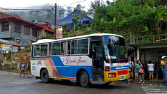 Lizardo Trans 003 at Sagada (III-cocoy22-III) Tags: lizardo trans 003 sagada town proper ambasing mountain province baguio city bus philippines