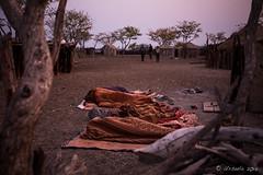 Morning Bedrolls 8484 (Ursula in Aus - Away) Tags: africa himba namibia otjomazeva bedrolls morning