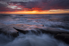 Third Degree Burn (brianconnollyphotography) Tags: ocean sunset sky seascape color nature spring waves sandiego lajolla hospitalsreef