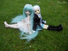 Kashi & Elwenn (Ushi de Bray) Tags: anime colin doll dream mini bjd dollfie volks 2d mayu mdd tamano